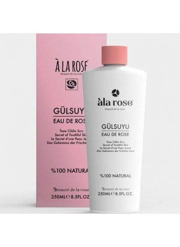 Ala Rose Natural Gül Suyu 250 ml Kutulu